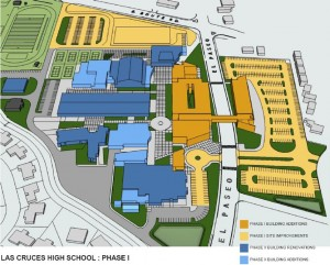 The New Las Cruces High School